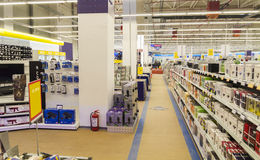 Elektronik shoppar Arkivbilder