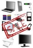 Elektronika Stock Afbeelding