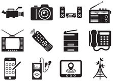 Elektronika royalty-vrije illustratie