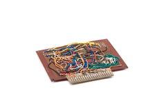 Elektronika circute Royalty-vrije Stock Afbeeldingen