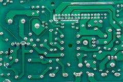 Elektronika druku wzór Zdjęcia Stock