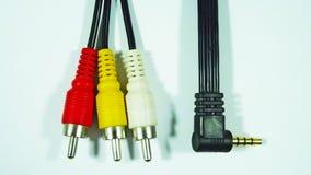 elektronika Druty dla związku zdjęcie stock