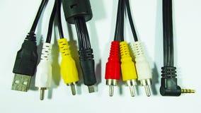 elektronika Druty dla związku obrazy stock