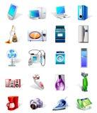 elektronika ikony ustawiający wektor Zdjęcie Royalty Free