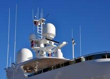 elektronika jacht s Obrazy Royalty Free