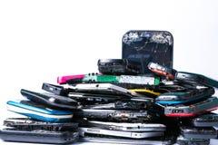 Elektronika odpady Obrazy Royalty Free