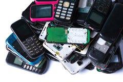 Elektronika odpady Zdjęcie Royalty Free