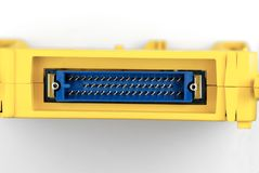 elektronika podłączeniowy port zdjęcie stock