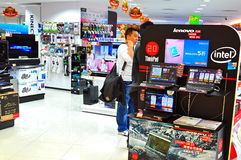 Elektronika przechują w Hong kong Zdjęcie Royalty Free
