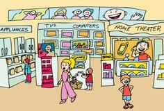 elektronika sklep Obrazy Stock