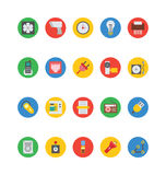Elektronika Wektorowe ikony 5 Obraz Royalty Free