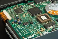 elektronika z mocno zdjęcie stock