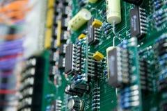Elektronikabschluß Lizenzfreies Stockfoto