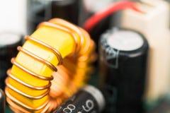 Elektronikdelar Fotografering för Bildbyråer