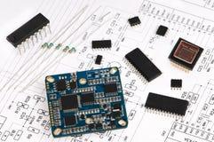 elektronikelementmicro royaltyfria bilder