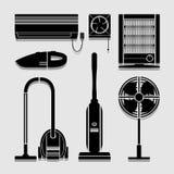 Elektronikhauptikonen stellten groß für jeden möglichen Gebrauch ein Vektor eps10 Lizenzfreie Stockfotografie