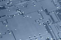 Elektroniki abstrakcjonistyczny tło Zdjęcia Royalty Free