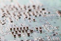 Elektroniki circuitry Zdjęcie Royalty Free