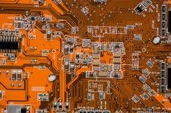 Elektroniki części komputerowy układ scalony Obraz Stock