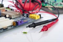Elektroniki wyposażenie Zdjęcia Stock