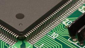 Elektroniknahaufnahme lizenzfreies stockbild