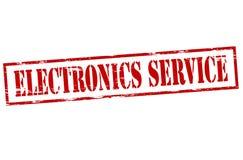 Elektronikservice royaltyfri illustrationer