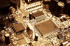 elektroniktappning Royaltyfri Fotografi