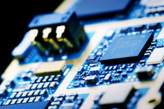 elektronikteknologi arkivbild