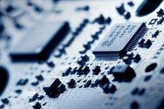 elektronikteknologi Fotografering för Bildbyråer