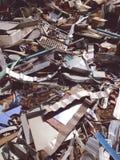Elektronisch afval royalty-vrije stock afbeelding