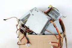 Elektronisch afval stock foto's