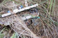 Elektronisch afval stock fotografie