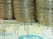 Elektronisch bankwezen Stock Foto
