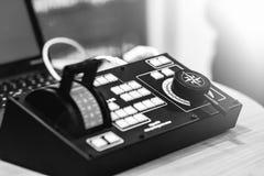 Elektronisch controlebord royalty-vrije stock afbeeldingen