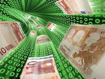 Elektronisch geld Stock Foto