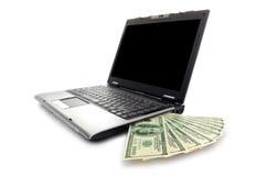 Elektronisch geld Stock Foto's