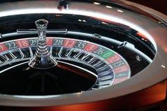 Elektronisch het wielclose-up van de casinoroulette Stock Foto's