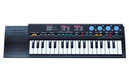 Elektronisch muziektoetsenbord royalty-vrije illustratie