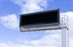 Elektronisch paneel. Wolken Royalty-vrije Stock Afbeeldingen