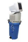 Elektronisch Recycling royalty-vrije stock afbeeldingen