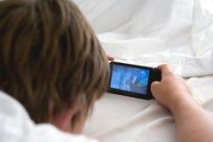 Elektronisch spel Royalty-vrije Stock Afbeeldingen