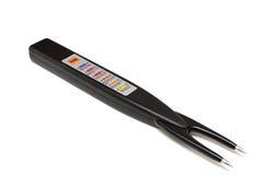 Elektronisch thermometervlees Royalty-vrije Stock Afbeelding