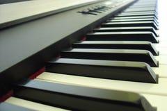 Elektronisch toetsenbord Stock Foto