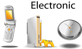 Elektronisch voorwerp Stock Foto's