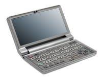 Elektronisch woordenboek stock afbeelding