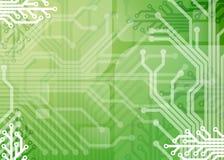 Elektronische abstracte achtergrond Stock Foto's