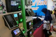 Elektronische Anwesenheit Lizenzfreies Stockfoto