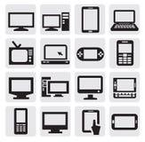 Elektronische apparaten Royalty-vrije Stock Afbeeldingen