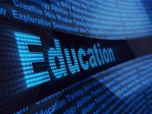 Elektronische Ausbildung Lizenzfreie Stockbilder