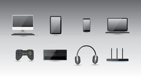 Elektronische Ausrüstung Stockbild